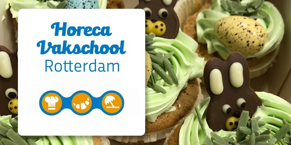 Horeca Vakschool Rotterdam verkoopt online zelfgemaakte chocolade eitjes