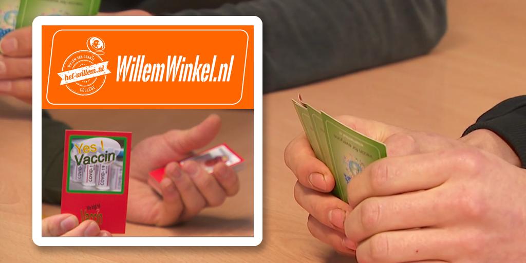 VMBO maakt vaccinatie bespreekbaar door kaartspel