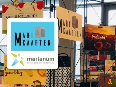 Marianum-leerlingen Lichtenvoorde verkopen kaarten in webshop!