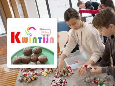 Kwintijn Online wordt gerund door 52 leerlingen uit groep 5 tot en met groep 8