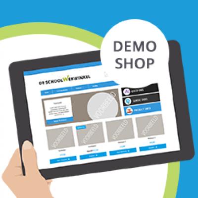 Bekijk onze demo webshop