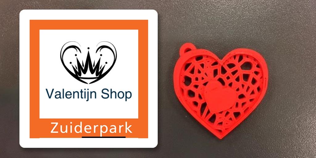 Valentijn Shop van Zuiderpark College ademt liefde