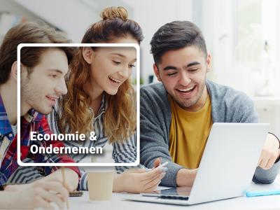 """Economie & Ondernemen leer je in de praktijk met """"lesmethode Webshop"""""""